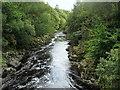 NY9027 : River Tees from Wynch Bridge by Chris Heaton