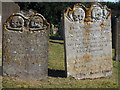 TR0458 : Creepy Headstones at St Peter & St Paul's Church by Oast House Archive