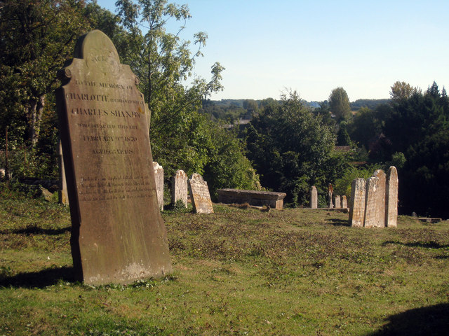 Headstones at St Peter & St Paul's Church