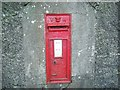 SM9230 : Victorian postbox, near Letterston by Martyn Harries