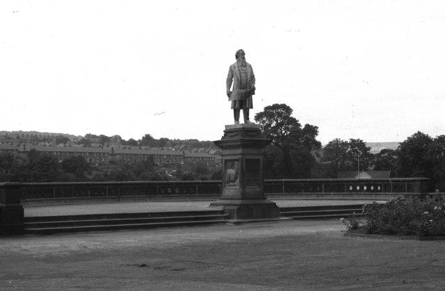 Statue of Sir Titus Salt,  Roberts Park, Saltaire