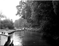 SO8275 : Caldwall Lock, Staffordshire and Worcestershire Canal by Dr Neil Clifton