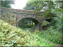 SE0421 : Railway bridge, Norland by Humphrey Bolton