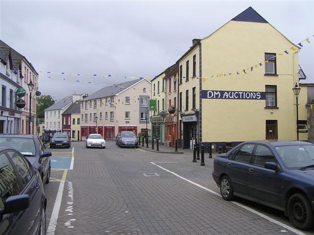 Main Street Manorhamilton 169 Kenneth Allen Cc By Sa 2 0