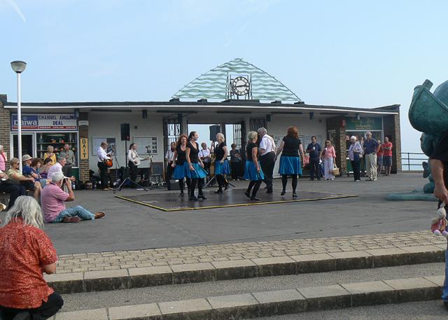 Irish dancers at Deal pier