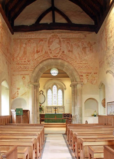 St John the Baptist, Clayton, Sussex - East end by John Salmon