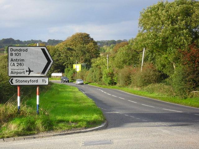 Rock Road at Mullaghglass