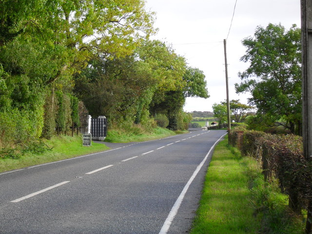 Stoneyford Road at Hillview