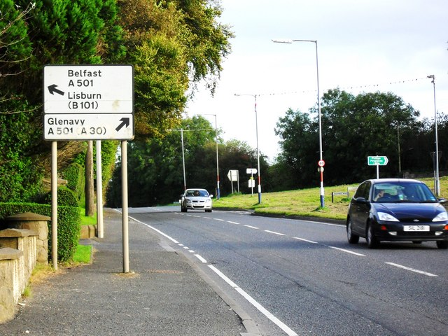 Stoneyford Road and Sheepwalk Road