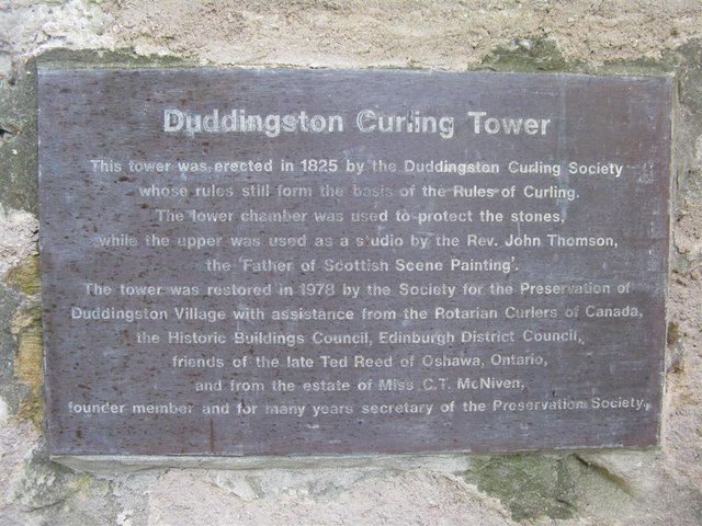 Duddingston Curling Tower