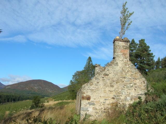Ruined Crofthouse, Uig, Glen Glass