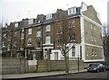 TQ2479 : Rear view of London town houses by Sandy B