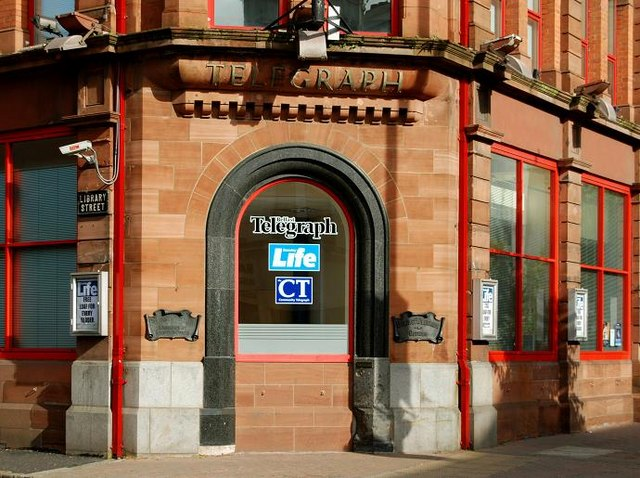Disused doorway, Belfast