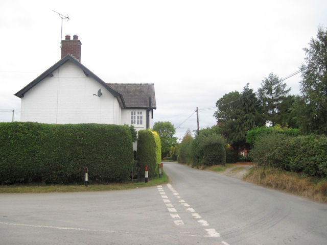 White cottage at Junction