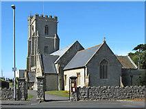 ST3049 : St Andrews Church, Burnham-on-Sea by Ken Grainger