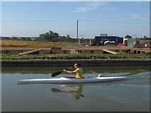 SP9122 : Grand Union Canal - Marina under construction by Chris Reynolds