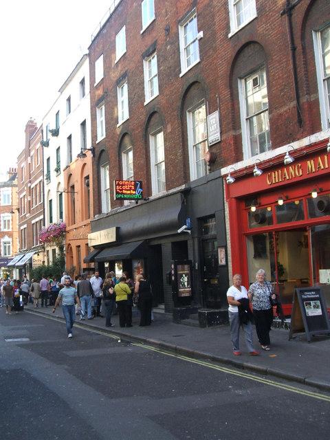 Ronnie Scott's Jazz Club, Frith Street, Soho