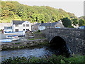 SM9637 : Bridge over the Afon Gwaun by Pauline E