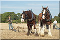 SU9846 : Surrey County Ploughing Match 2009 (2) by Peter Trimming