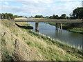 TF4517 : Tydd Gote bridge over The North Level Main Drain by Richard Humphrey