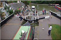 SP6989 : Foxton Bottom Lock by Stephen McKay