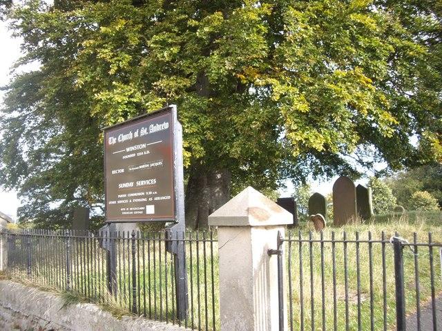 Access to Winston Church
