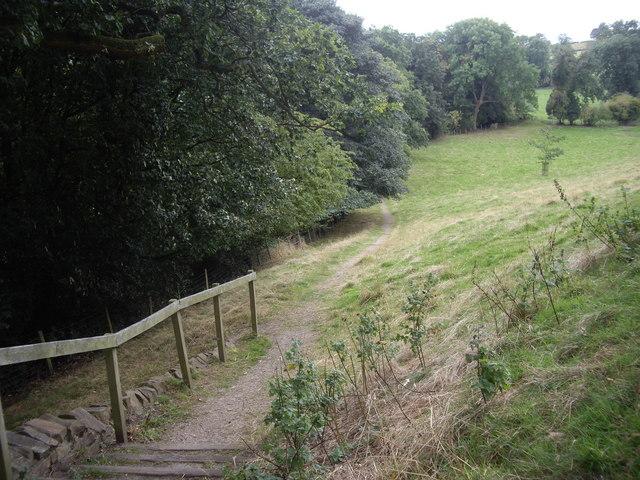 Footpath to Winston Bridge