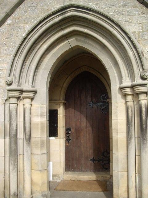 Entrance to Winston Church
