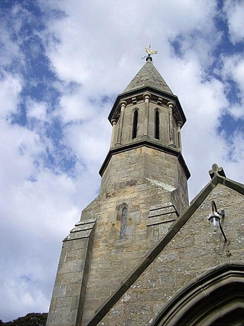 Spire of Winston Church