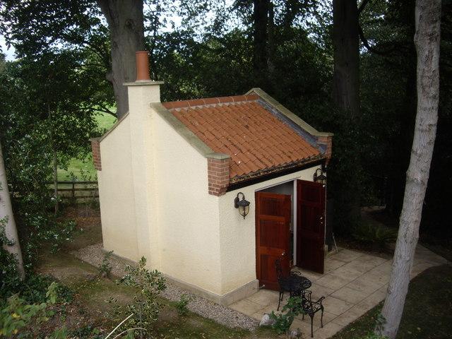 Garden room, Winston Vicarage