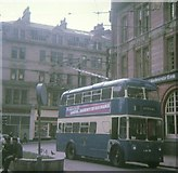 SE1633 : Trolleybus in Bradford City Centre by David Hillas