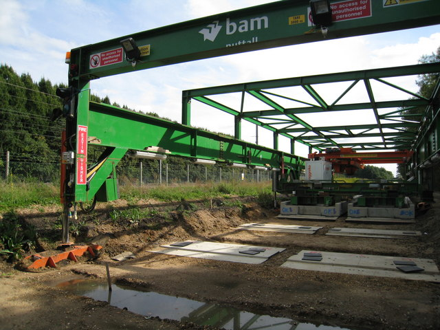 How to build a guided busway
