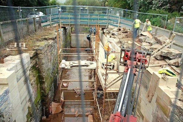 Lock restoration, Newforge, Belfast