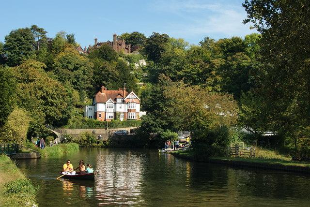 River Wey Near Guildford, Surrey