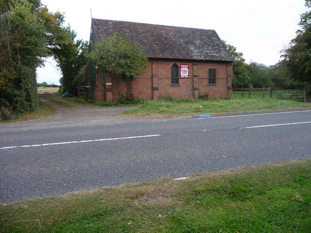 Hanbury - disused blacksmith's forge