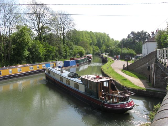 Grand Union Canal: Tring Summit, Junction with Wendover Arm