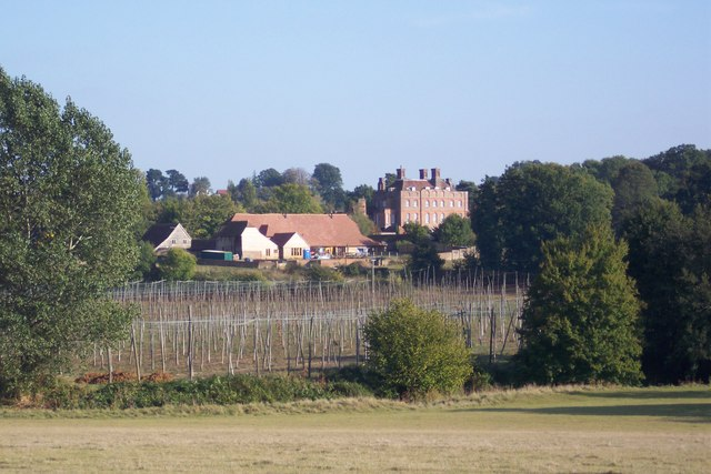 Finchcocks Farm  and Finchcocks House