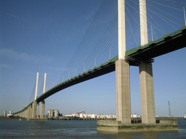 The Queen Elizabeth II Bridge at Dartford