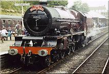 SD8010 : 6201 Princess Elizabeth at Bury Bolton Street by Ashley Dace