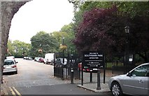 TQ3479 : Jamaica gates (1 of 6) to Southwark Park, Rotherhithe, London, SE16 by Chris Lordan