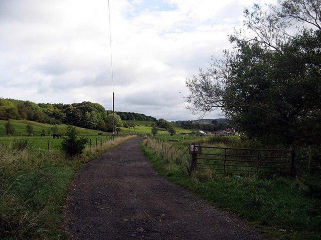 Road to Armonside Farm