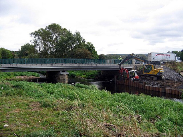 Repairs being carried out after recent flooding