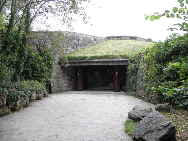 Entrance to the Navan Fort  Armagh