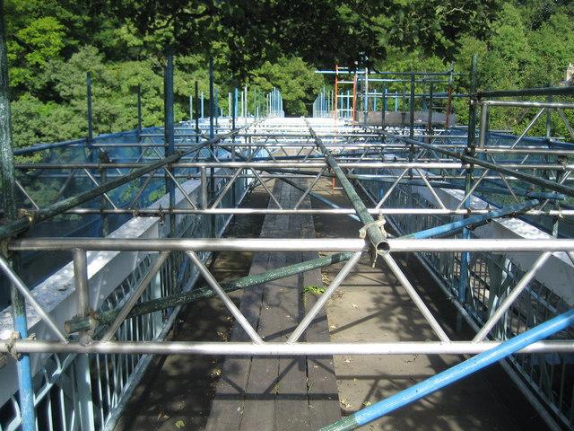 Deepdale Aqueduct under Repair
