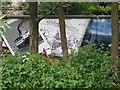 NS5766 : Mural, Kelvingrove Park. 11 - QE2 by Richard Webb