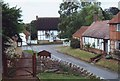 SP6811 : Village cottages, Chilton, Bucks. by nick macneill