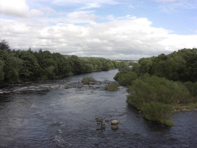 River Tyne at Wylam