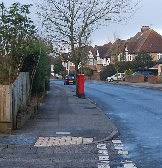 Postbox on Yew Tree Rd by N Chadwick