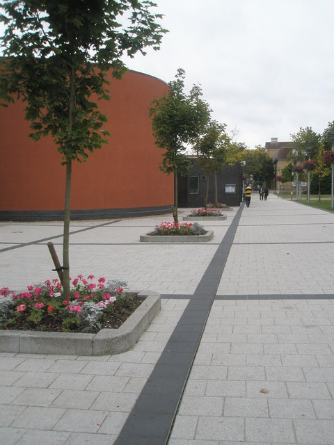 Flowerbeds at Brunel University