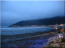 J3731 : The beach at Newcastle at nightfall by Eric Jones